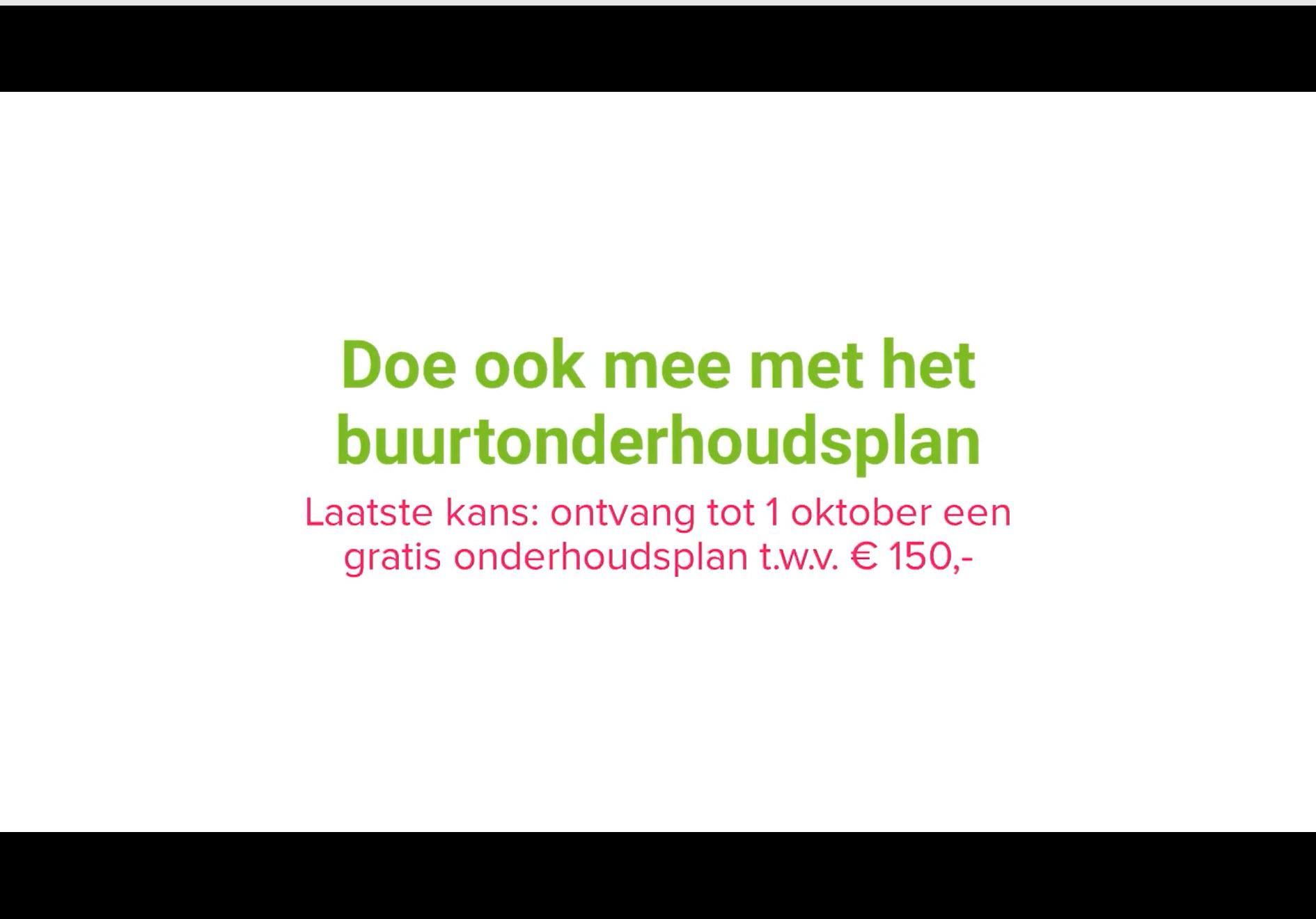 Online campagne Huizenaanpak